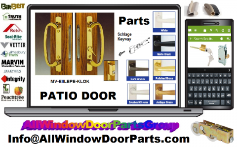 Finding the right window and door replacement parts is job one at DoorsWindowHardware.com
